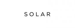 Logotyp firmy Solar sponsorującej teatr