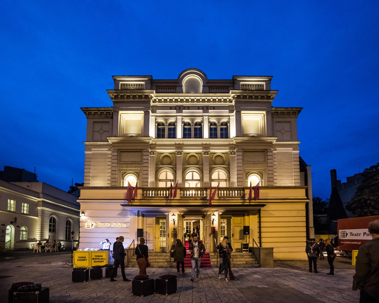 IX Metafory Rzeczywistosci 2016 Wojna. To be war/or not to be. Teatr Polski w Poznaniu f/ Marek Zakrzewski