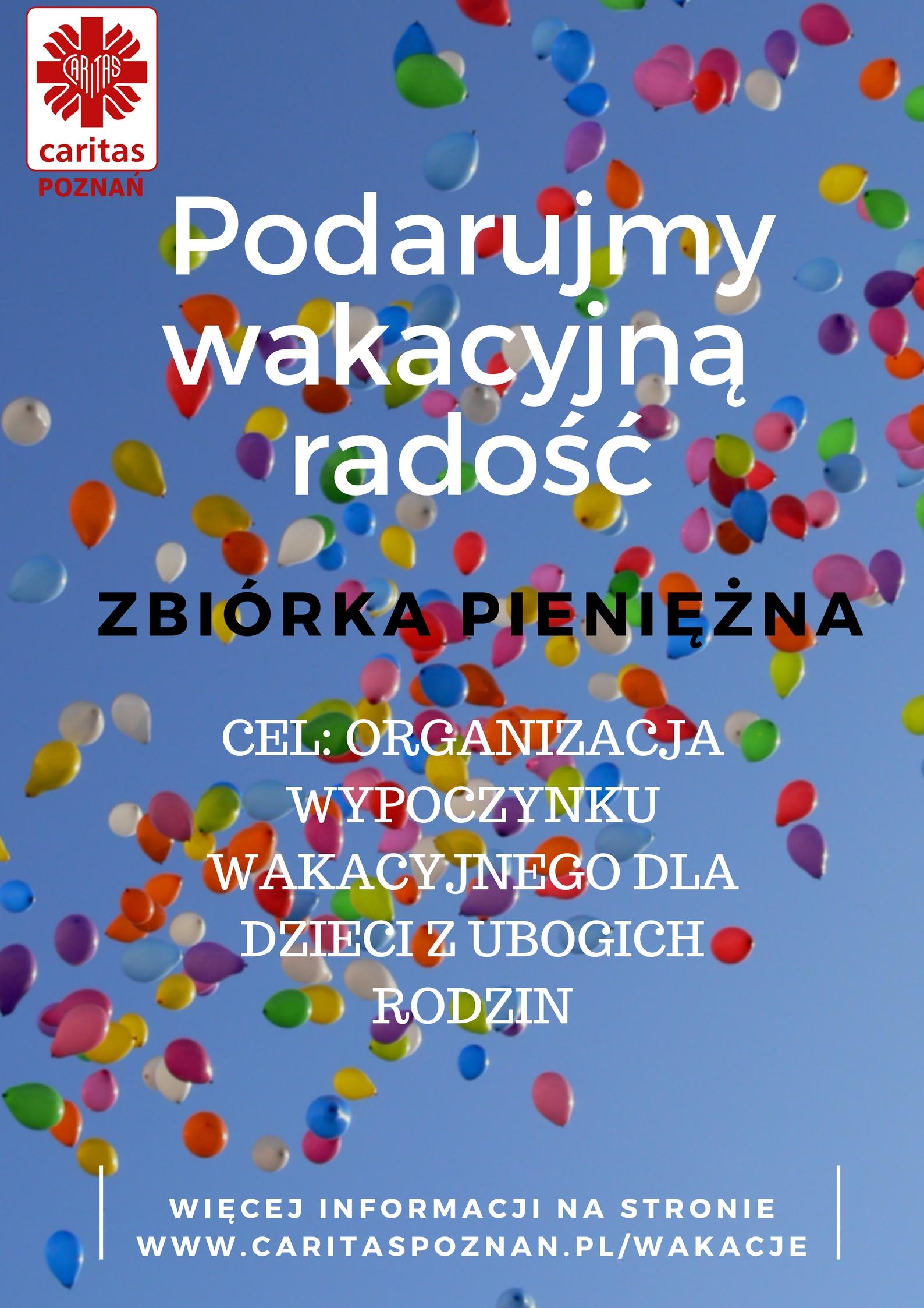 Plakat zbiórki