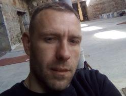 Oleg Siergiejew. Zdjęcie w Starej Rzeźni.