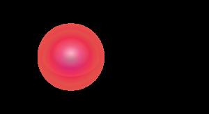 """Czerwone kula polewej. Poprawej napis """"Fundacja Reszka"""""""